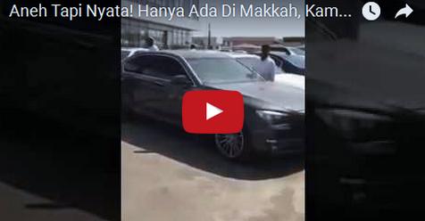 Video: Hanya Ada Di Makkah, Kambing-kambing Bisa Duduk Diatas Kursi Mobil Mewah