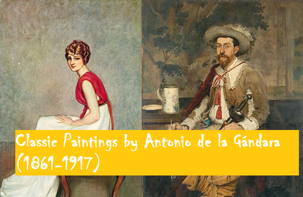 Paintings by Antonio de la Gándara (1861-1917)
