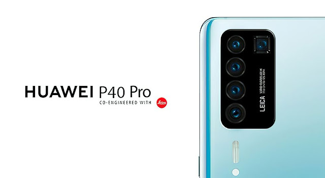 قد يأتي Huawei P40 Pro مع خمس كاميرات