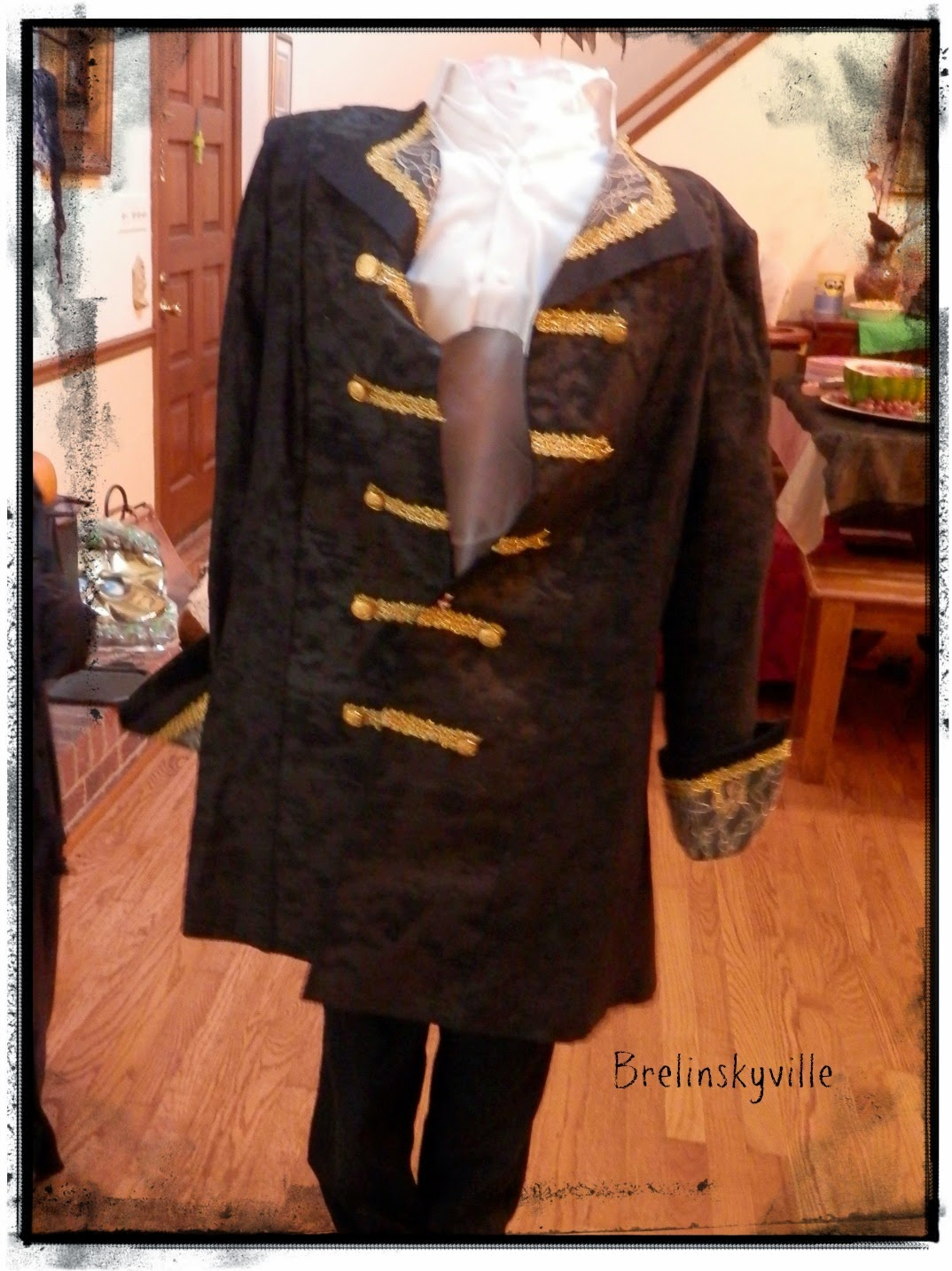headless man costume