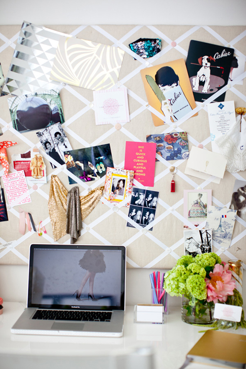 Studio+Home+Office+DIY+Moodboard Sparkling Interior Inspiration and Home Office Style From Glitter Guide Catherine Sheppard of the life styled