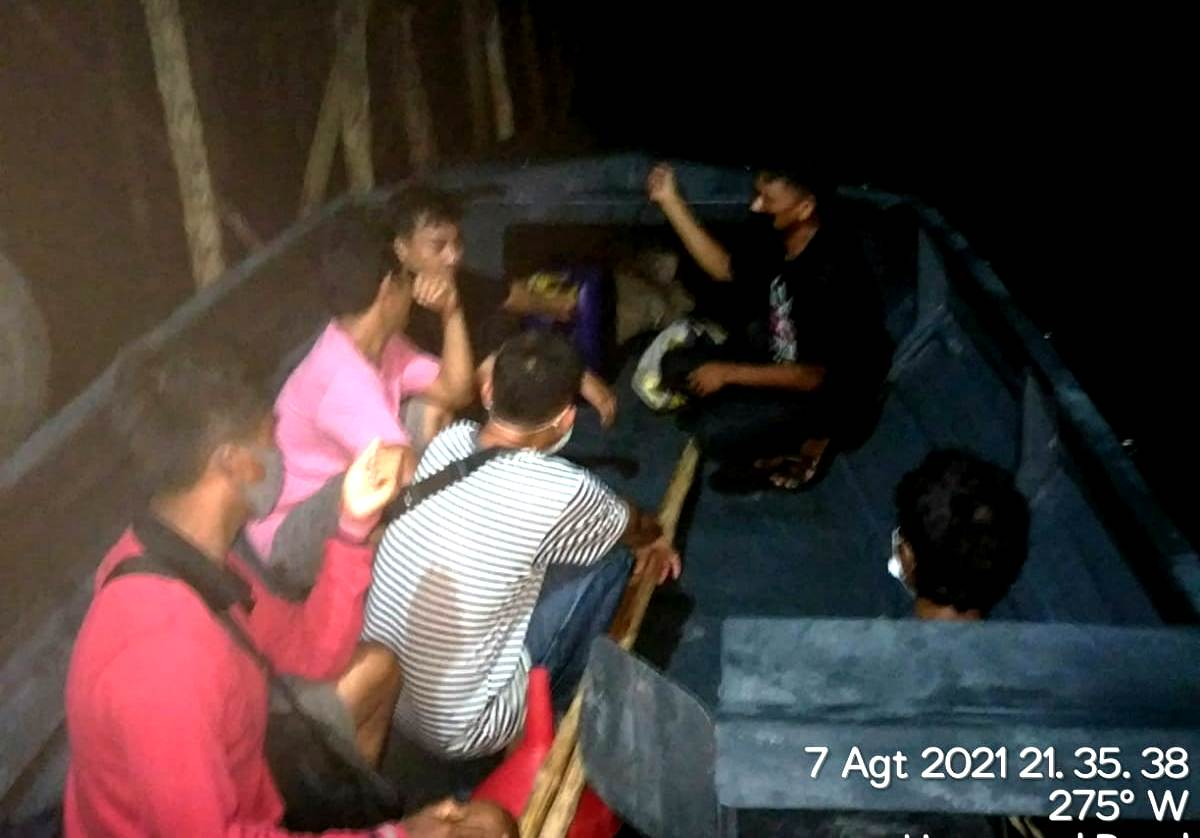 Bawa PMI Masuk Ilegal Ke Malaysia, Polisi Amankan Tiga Pelaku