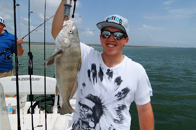 Zack Trayner's Black Drum Catch, JustGoFishin.com