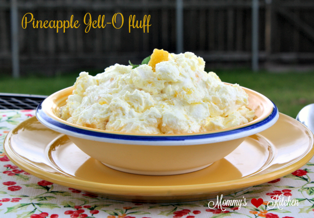 Pineapple Jello Fluff