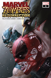 Marvel Zombies: Resurrection #1 cover from Marvel Comics