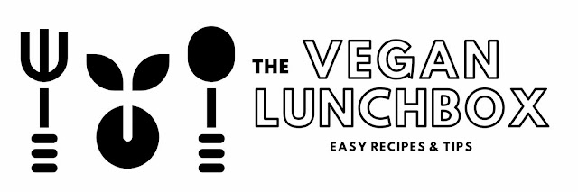 The Vegan Lunch Box blog banner