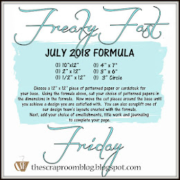 July 2018 Freaky Fast Friday Challenge