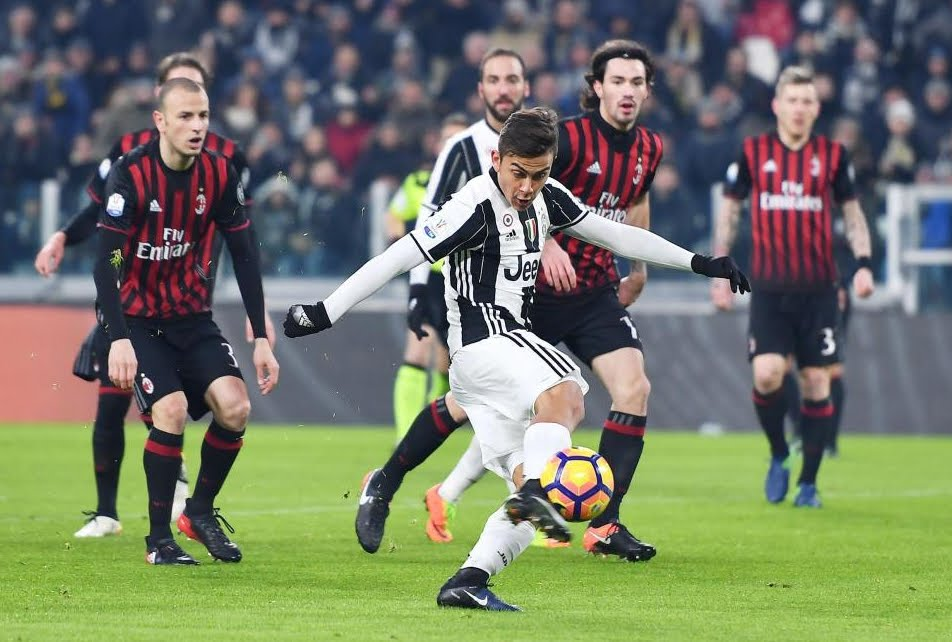 Dove Vedere JUVENTUS-MILAN Streaming senza Rojadirecta Gratis Video Online