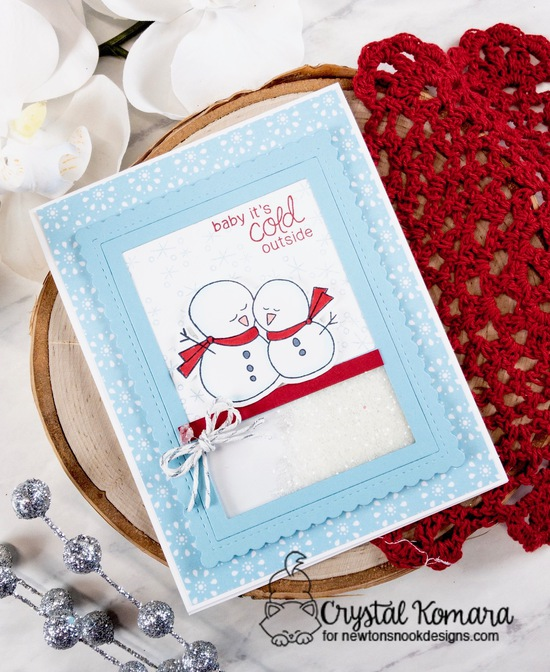 Baby it's cold outside by Crystal features Frozen Friends by Newton's Nook Designs; #newtonsnook