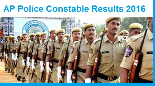 ap police constable results 2016