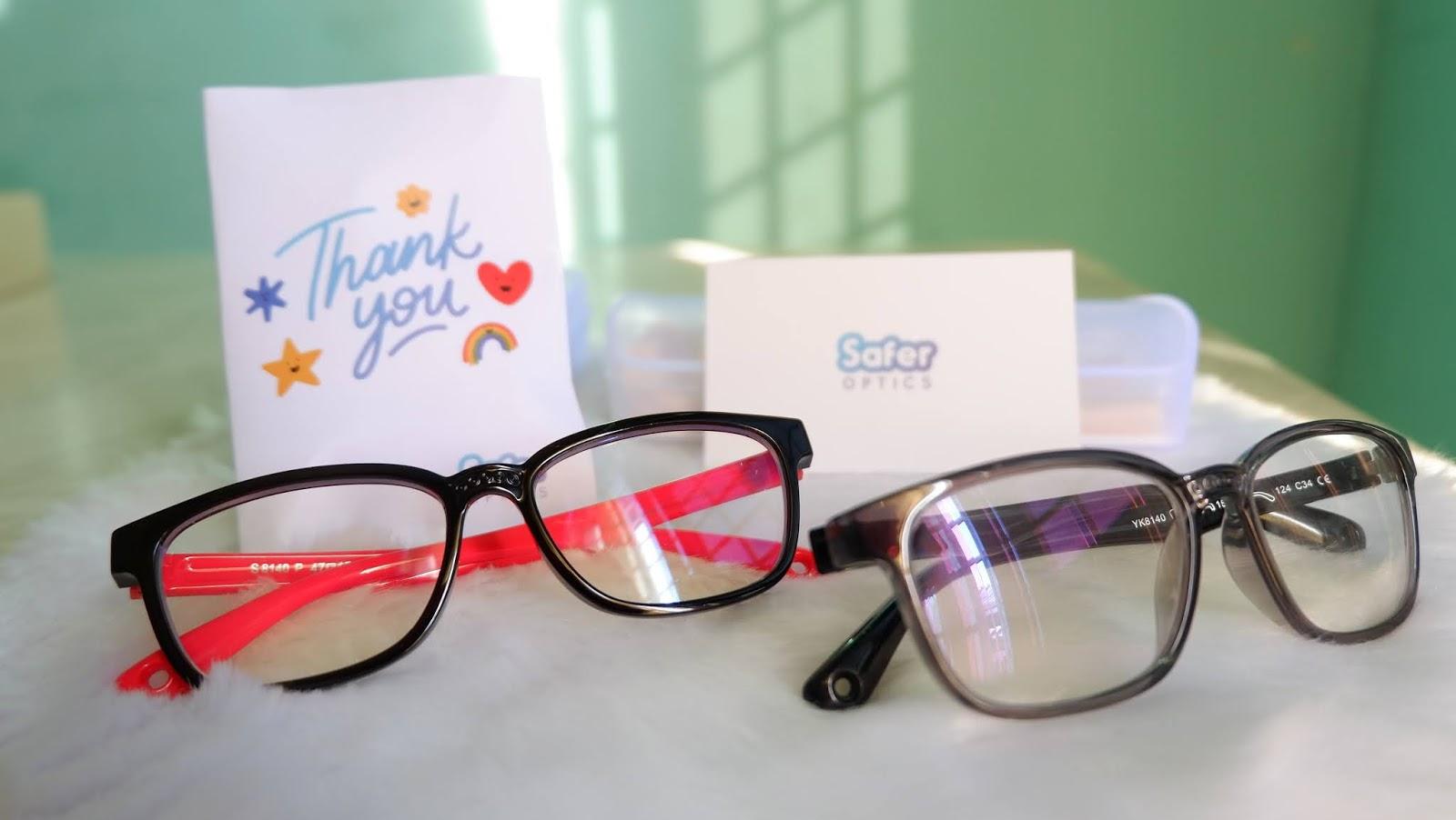 Review Safer Optics Anti Blue Light Eye Wear