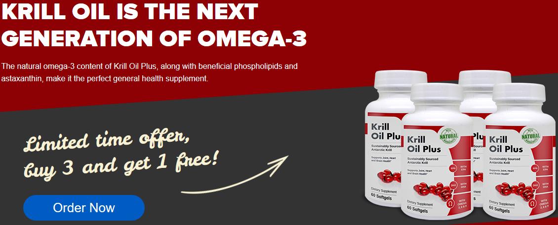 Krill Oil Plus - Supplement