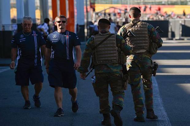 Balapan F1 Belgia Dalam Ancaman ISIS