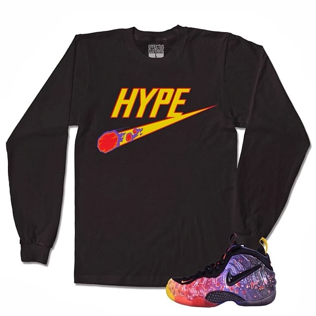 Crewneck for the Asteroid Foamposite Shoes | Jordan ...