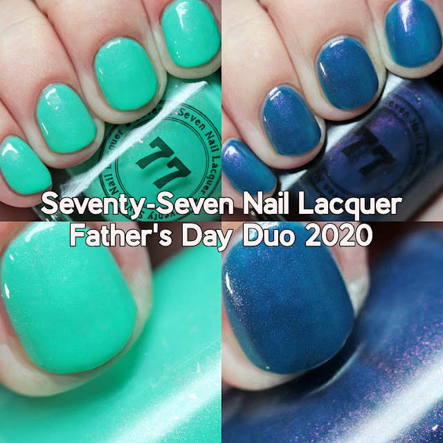 Seventy-Seven Nail Lacquer Father's Day Duo 2020