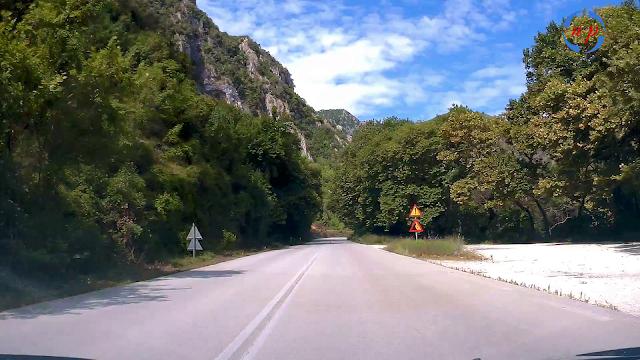 """Πρέβεζα: Τα """"Τέμπη"""" της Ηπείρου - Road trip in Epirus - Βίντεο"""
