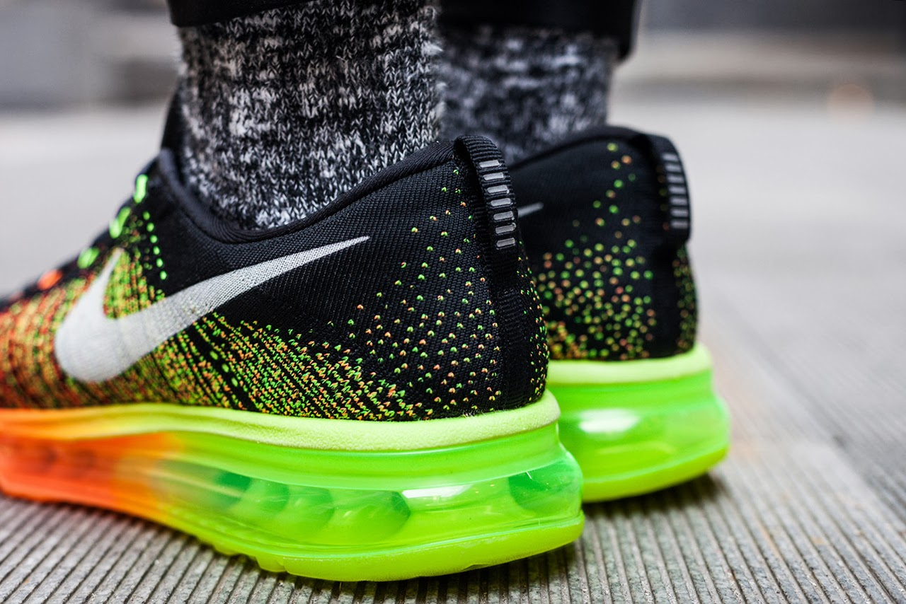 336b96020fc223 the Swoosh combines two of their most game-changing innovations in the  Flyknit Air Max to help kickoff 2014.