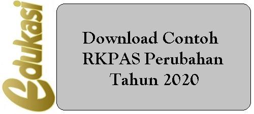 Download Contoh RKPAS Perubahan Tahun 2020