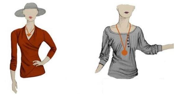 collares, formas de ponerse collares, colgantes, bisutería