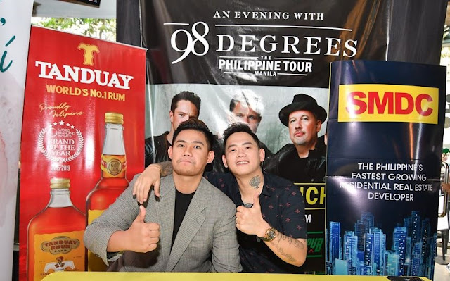 An Evening with 98 Degrees Philippine Tour