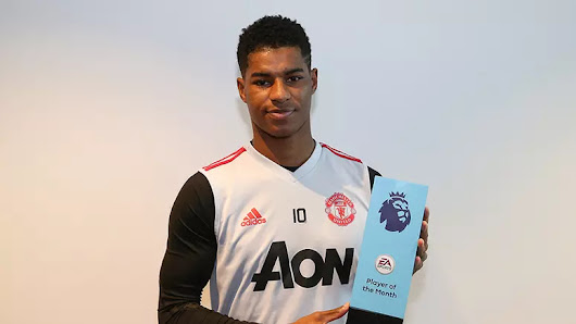 Manchester United Rashford And Solskjaer win Premier League monthly awards