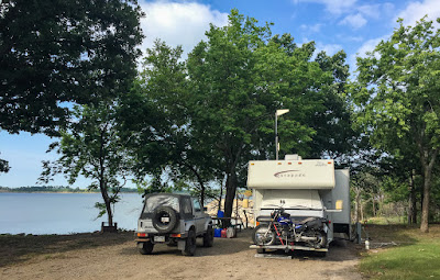Eastward, Ho! Day 6: Whitehall Bay COE Campground
