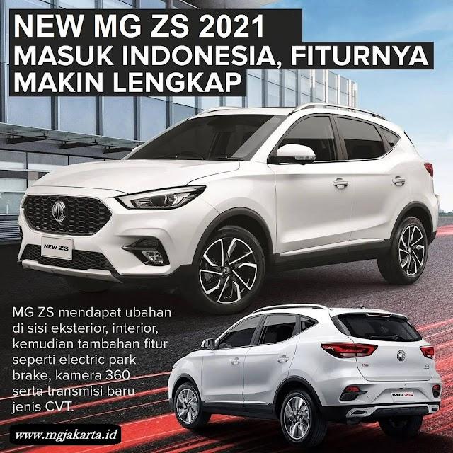 NEW ZS 2021 FITUR MAKIN LENGKAP