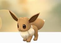 In-Game Eevee - Pokemon Go