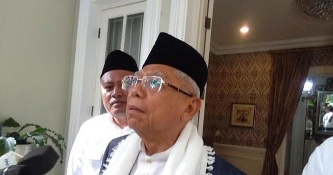 Berapa Lama Ma'ruf Amin Jadi Wapres Jokowi?