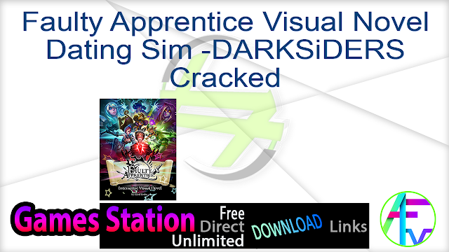 Faulty Apprentice Visual Novel Dating Sim -DARKSiDERS Cracked