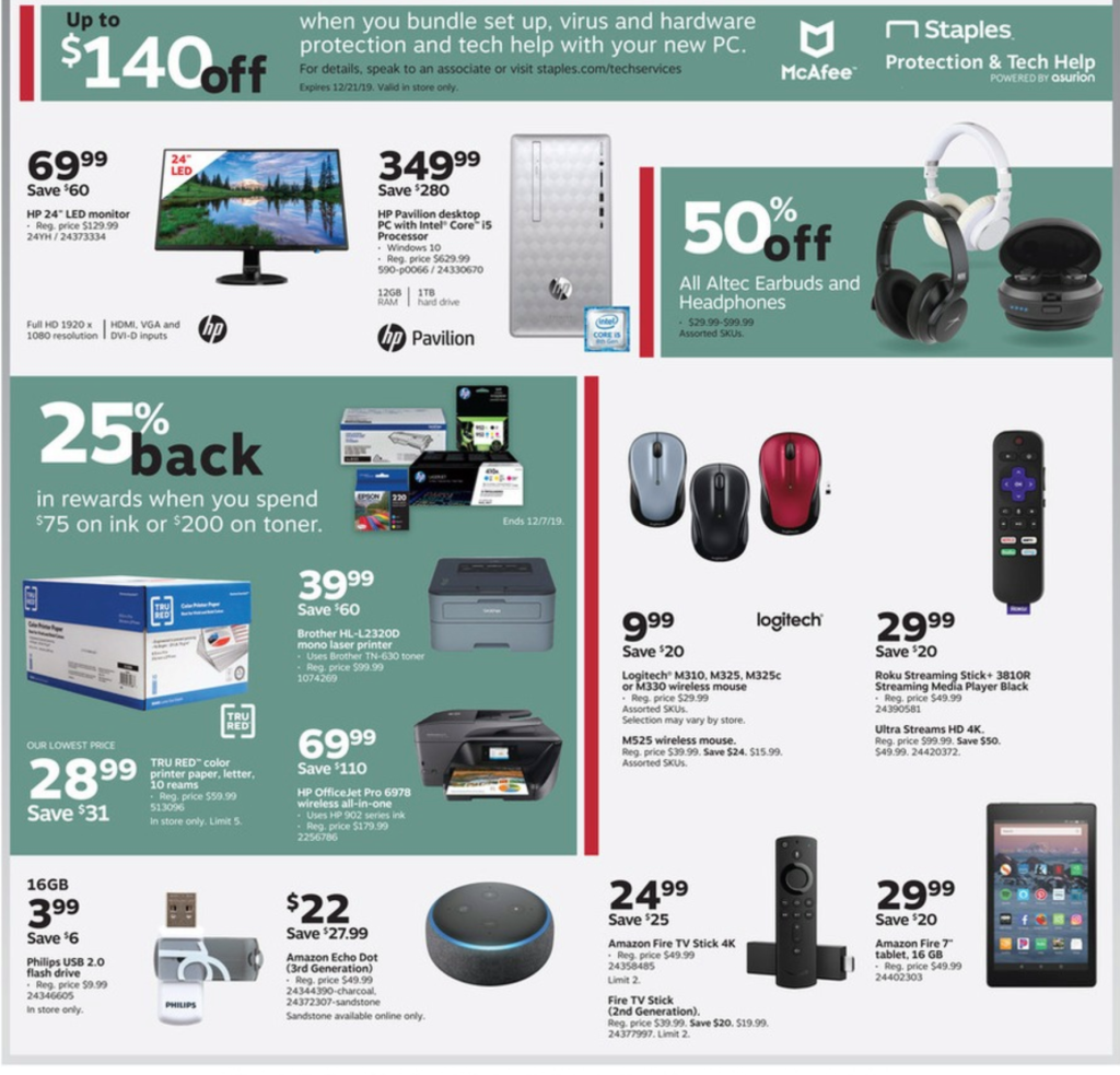 staples black friday ad 2019 amazing deals
