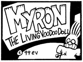 Myron the Living Voodoo Doll by Evan Dorkin
