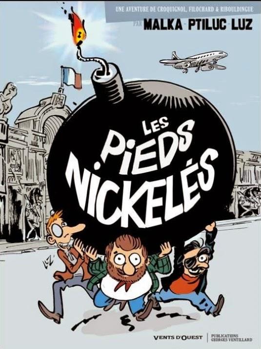 Les pieds nickelés chez Charlie Hebdo