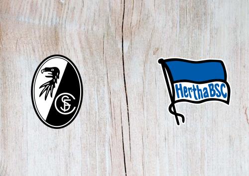 Freiburg vs Hertha BSC -Highlights 20 December 2020
