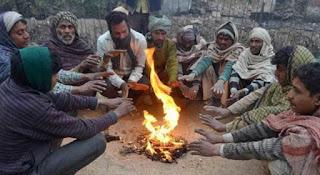कड़कड़ाती ठंड की जद में आया झाबुआ, शीत लहरो ने लोगों को दुबकाया