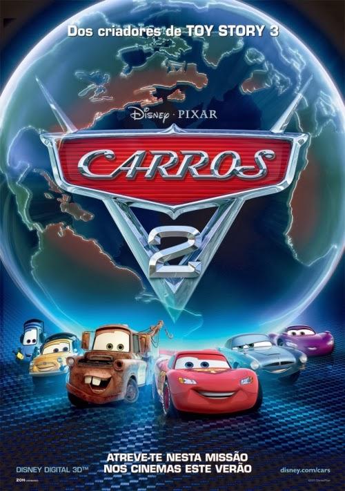 Capa do Filme Carros 2