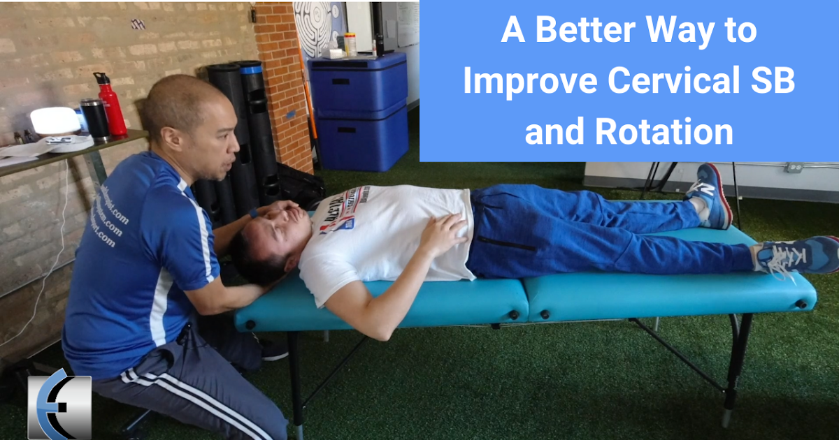 Photo of A better way to improve lateral flexion and cervical rotation | Modern Manual Therapy Blog