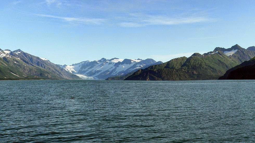 Mc Carty Glacier (2004) - Photos of Alaska Then And Now. This is A Get Ready to Be Shocked When You See What it Looks Like Now.