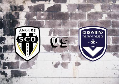 Angers vs Bordeaux  Resumen