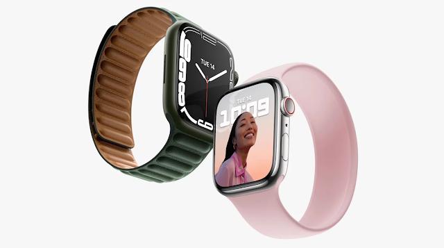 أعلنت شركة آبل عن Apple Watch Series 7 بشاشة أكبر مُعاد تصميمها
