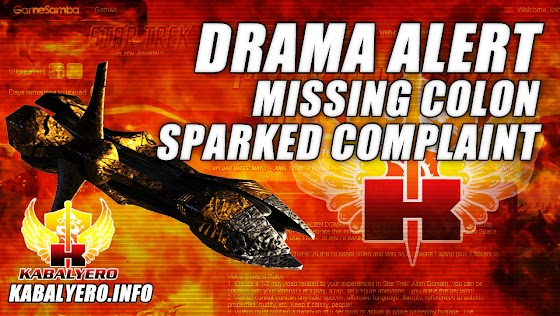 Star Trek: Alien Domain Anniversary Video Contest ★ Drama Alert! Complaining About The Missing Colon