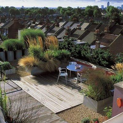 Jard n en una terraza o azotea guia de jardin aprende a - Idee deco terrasse exterieure ...