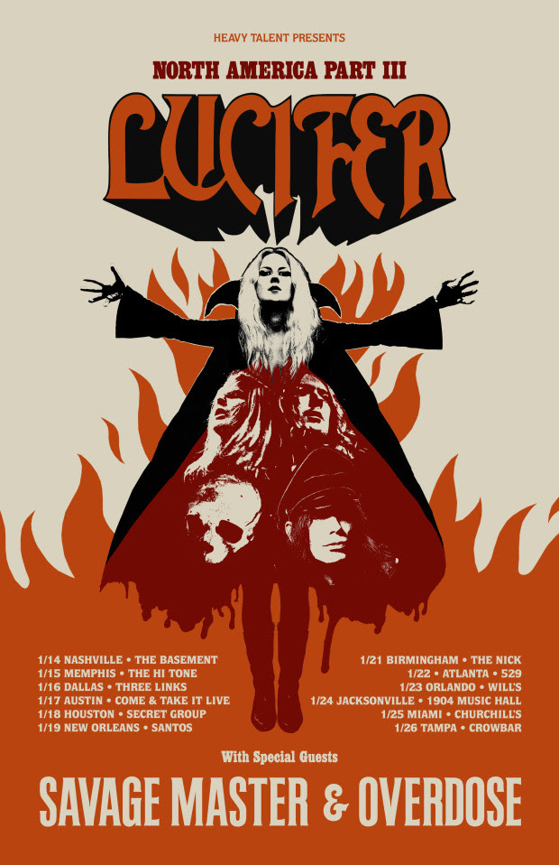 Lucifer American tour