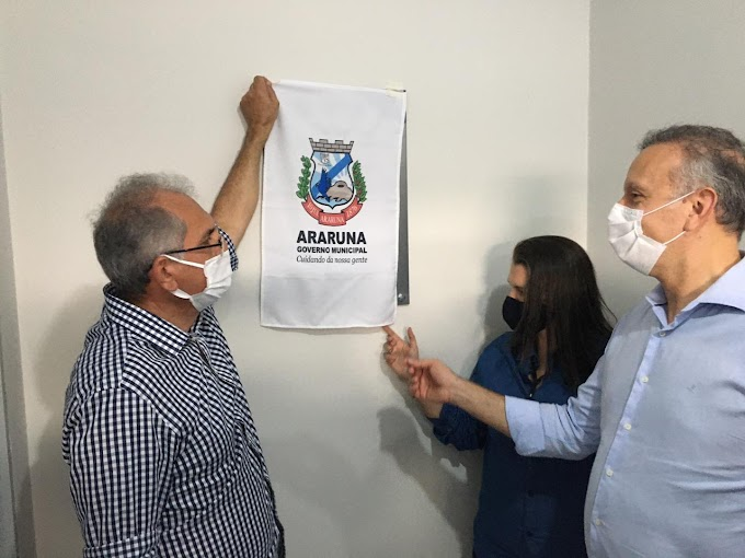 Prefeito Vital Costa inaugura obras e assina ordens de serviço na área da educação em Araruna