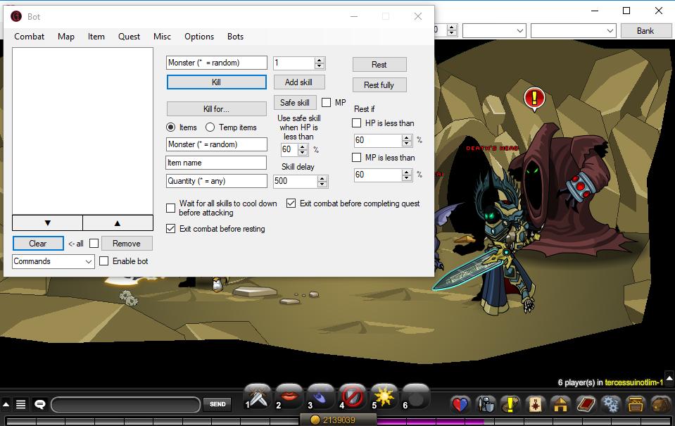 Spanirix: AQW- Grimoire bot 3 8