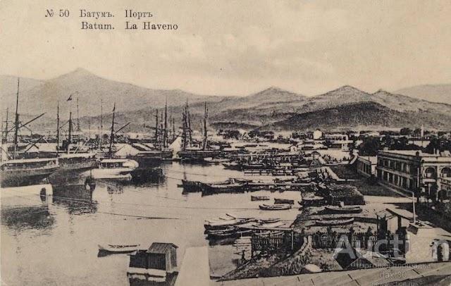 История о том, как постройка порта Батуми в конце XIX века способствовала возникновению нефтяной империи Shell