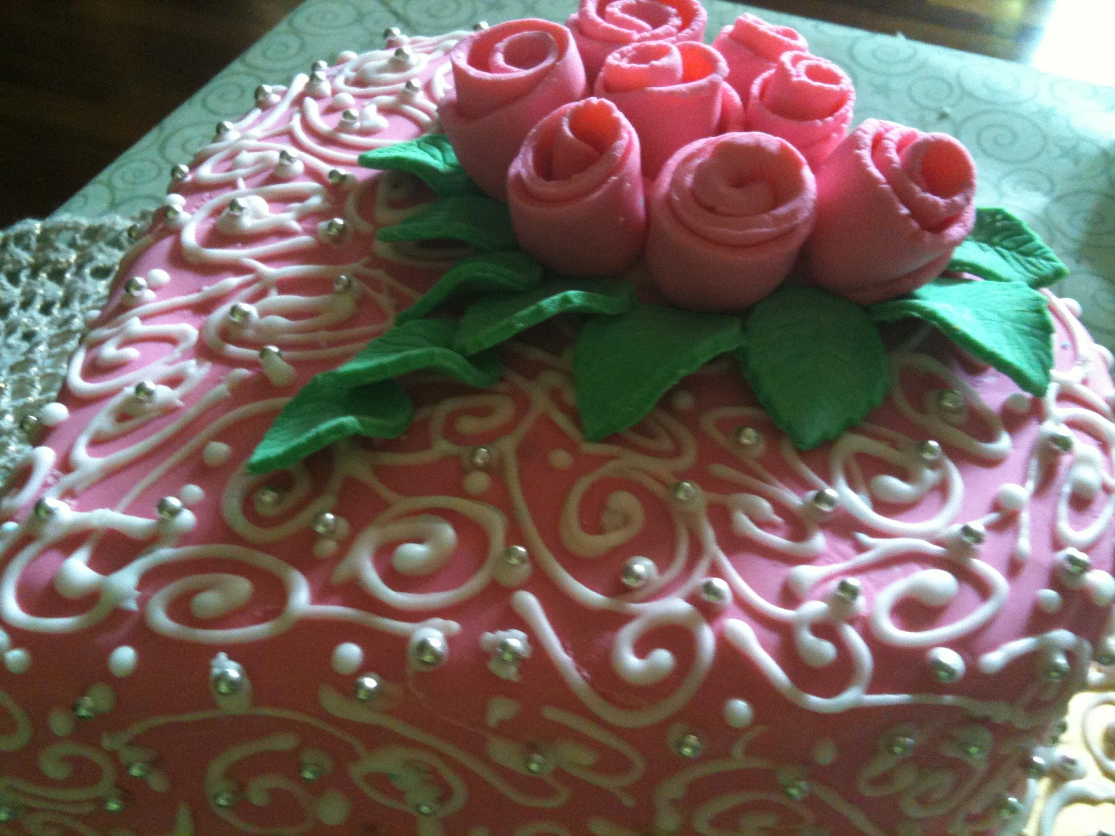 Gubahan Impian My Lovely Fondant Cake Cup Cakes Kek