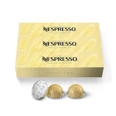 Nespresso Vanilla Custard Pie Vertuo Pods