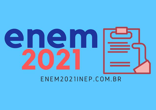 Inscrições para Enem 2021 começam 30 de junho por meio do site do Inep