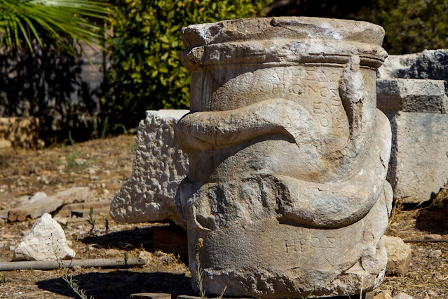 2,000-year-old snake altar unearthed in Graeco-Lycian city of Patara